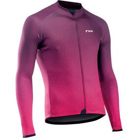 Northwave Blade 3 Maglia jersey a maniche lunghe Uomo, viola/rosa